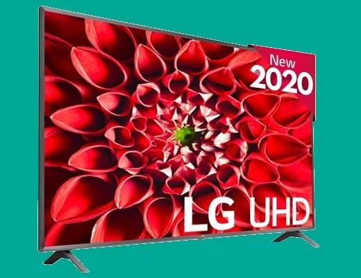 LG 50UN80006LC: Smart TV 4K de 50'' con Magic Remote, sonido Ultra Surround y webOS 5.0