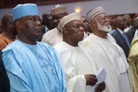 Retired Generals Back Obasanjo For Endorsing Atiku