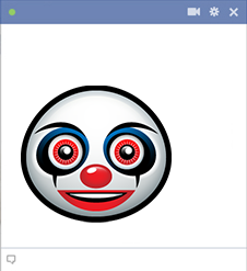 Horror Clown Emoticon