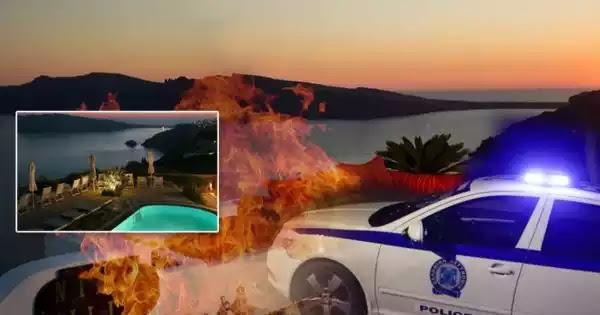 Σαντορίνη: Έκαψαν ιδιοκτήτη ξενοδοχείου στην Οία