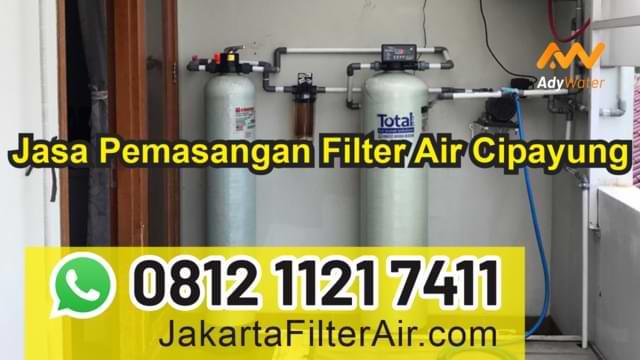 jasa pemasangan filter air cipayung