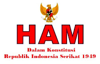 Hak Asasi Manusia (HAM) Dalam Konstitusi Republik Indonesia Serikat 1949