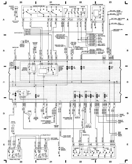 pajero electrical wiring diagram where are your lymph nodes located 1992 audi 80 | all about diagrams