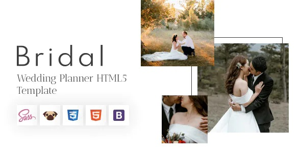 Best Wedding Planner and Photography Template