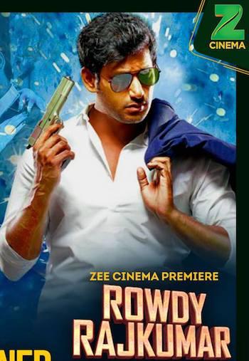 Rowdy Rajkumar 2017 Hindi Dubbed DTHRip 600MB
