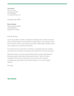 Spearmint cover letter template google docs