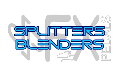 Splitters and Blenders for instruments. Amp Selectors, Loop blenders, loop selectors. Multiple amps.
