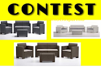 Logo Vinci gratis Set Divanetto ( divano, 2 poltrone e tavolino)