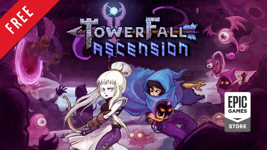 towerfall ascension free pc game epic games store hit archery combat game matt makes games