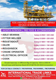 Marine Drilling Company in Benin West Africa