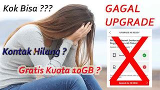 Gagal Upgrade Kartu SIM Telkomsel ke 4G Karena Terdaftar Jasa Perbankan
