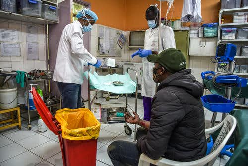 LIBERIANS FEAR ATTENDING  CLINICS, HOSPITALS AND EVEN THE COVID-19  TREATMENT CENTER