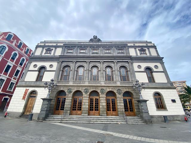 Teatro Perez Galdos, Las Palmas, Gran Canaria, Spain