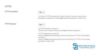 Cara Merubah HTTP Menjadi HTTPS Pada Custom Domain Blogger