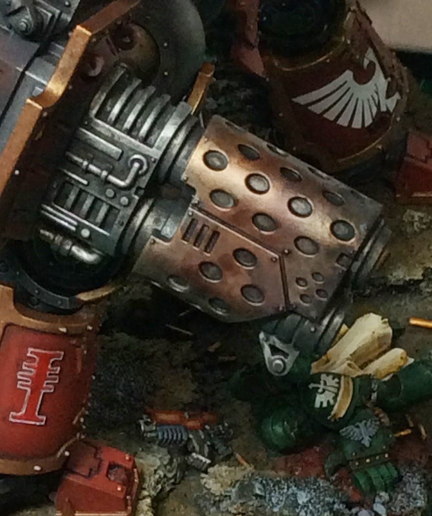 Freeblade Imperial Knight Errant Thermal Cannon Detail