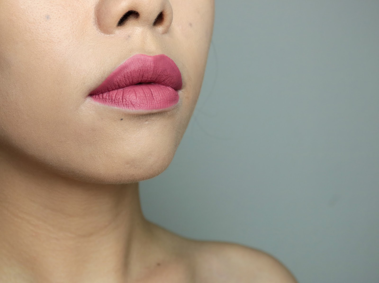 Les Velour Liquid Lipsticks de Jeffree Star Rose Matter swatch