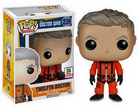Funko Pop Vinilo Doctor Who Décimo Doctor en Spacesuit NYCC Exclusiva