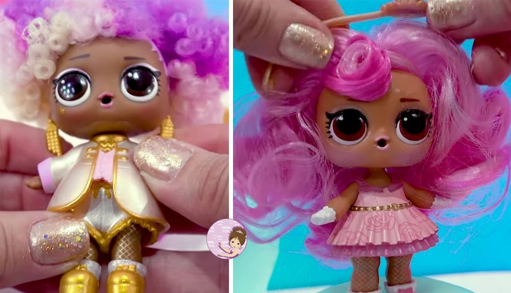 New L.O.L. Surprise dolls #hairvibes with hair wigs