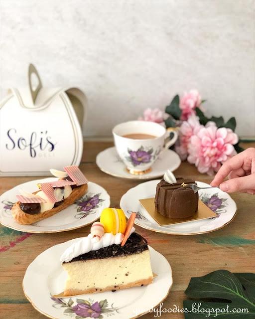Sofitel KL mco takeaway menu sweets