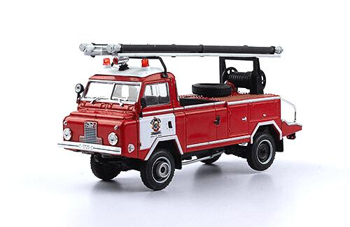 santana 1300 1975 Bomberos 1:43 vehículos de reparto y servicio salvat
