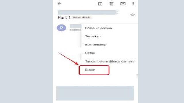 Cara Memblokir Email di Gmail