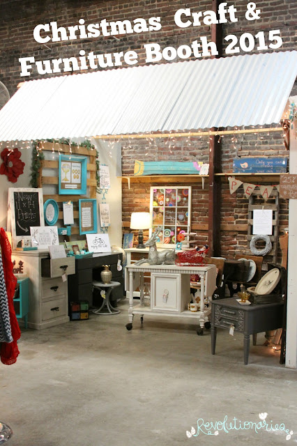 Revolutionaries: Christmas Craft and Furniture Booth 2015