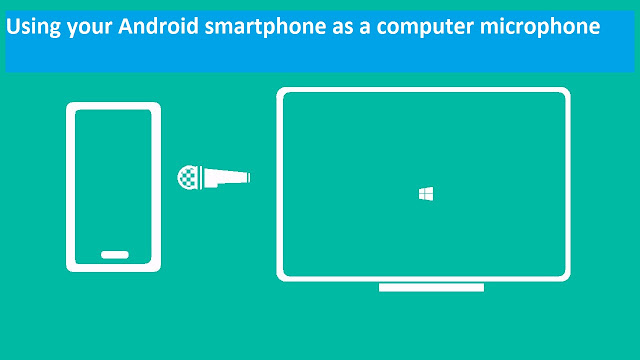 Using your Android smartphone as a computer microphone