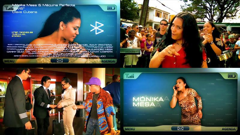 Mónika Mesa - ¨SMS¨ - Videoclip - Director: Alexis Oliva. Portal Del Vídeo Clip Cubano