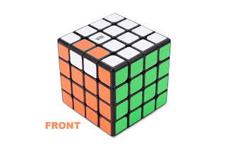 OLL Parity Case 4x4x4 Rubik's Cube