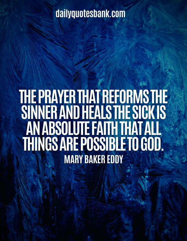 Positive Quotes About God Healing Power