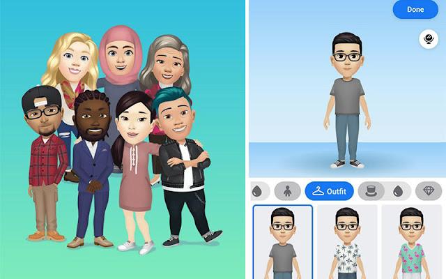 Ikuti Langkah Mudah Untuk Buat Facebook Avatar. Ciri Terbaru Daripada Facebook