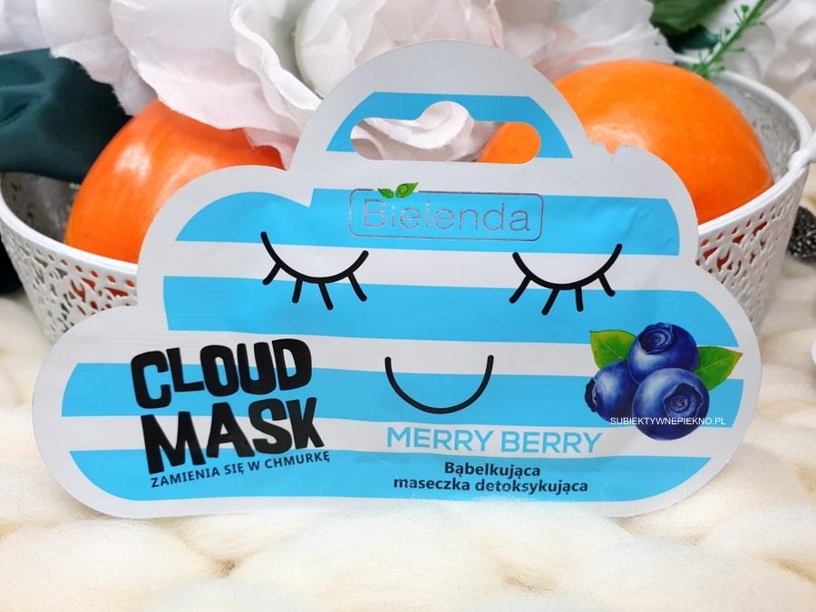 Bielenda Cloud Mask Merry Berry opinie i skład - maseczka bąbelkująca, detoksykująca