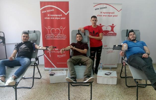 Εθελοντική Αιμοδοσία στην ΕΠΑ.Σ. Μαθητείας Αργολίδας