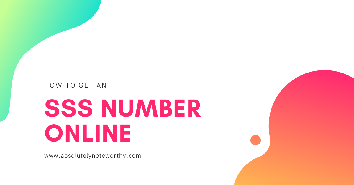 How to get an SSS number online