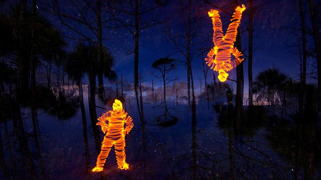 Jason D. Page Light Painting Tutorial: How To Light Paint a Light Man