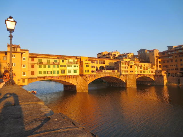 Florence, Italy - The Other Side of the Road