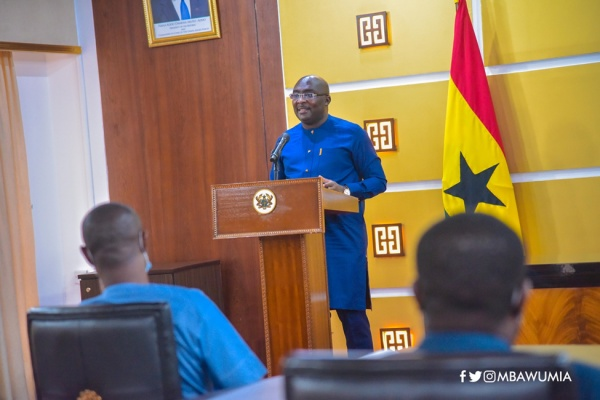VP Bawumia Launches Online Scholarship Application System