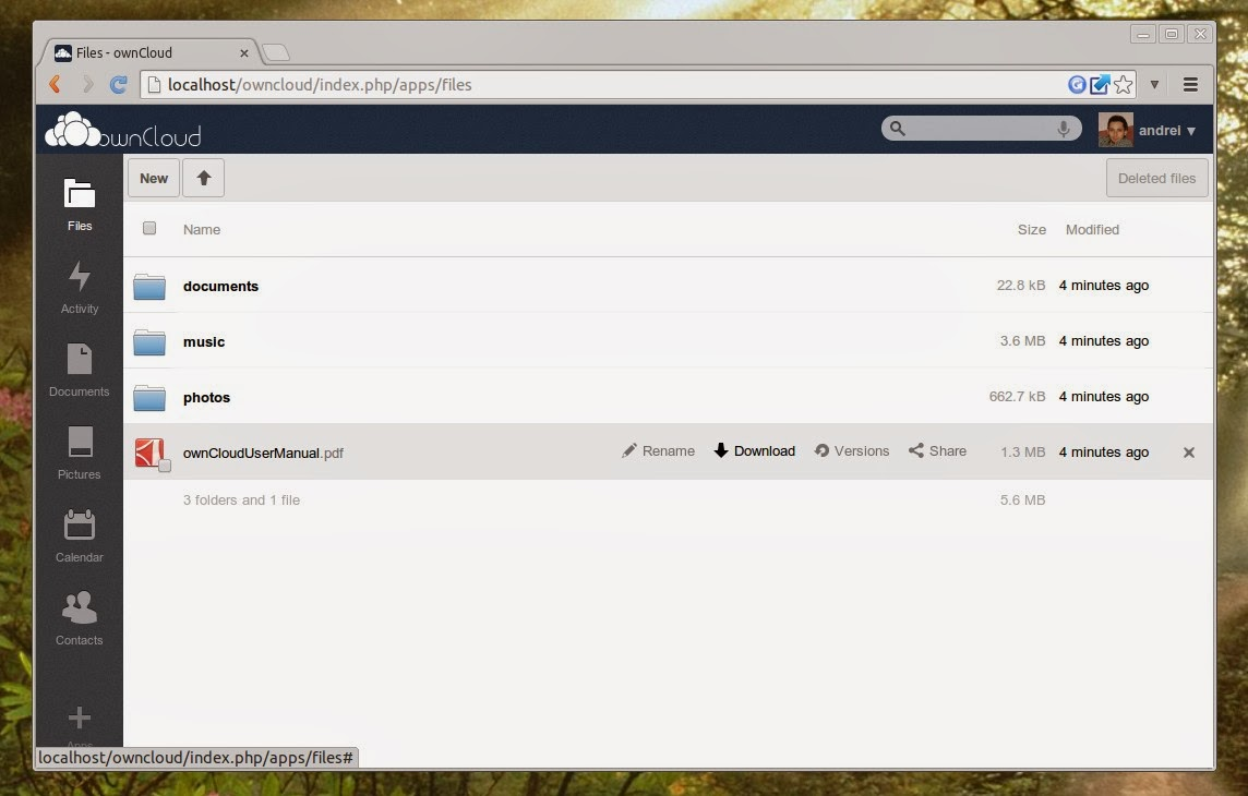 ownCloud 6 Released With Online Collaborative Document
