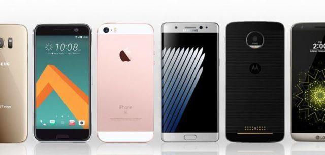 Smartphones tops chegam ao País