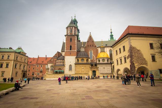 Cattedrale-Castello reale del Wawel-Cracovia