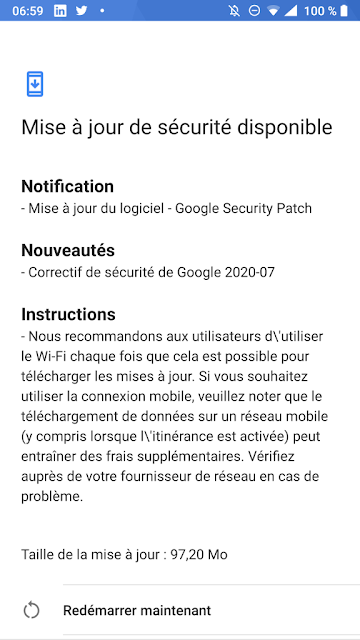 Nokia 8 receiving July 2020 Android Security patch