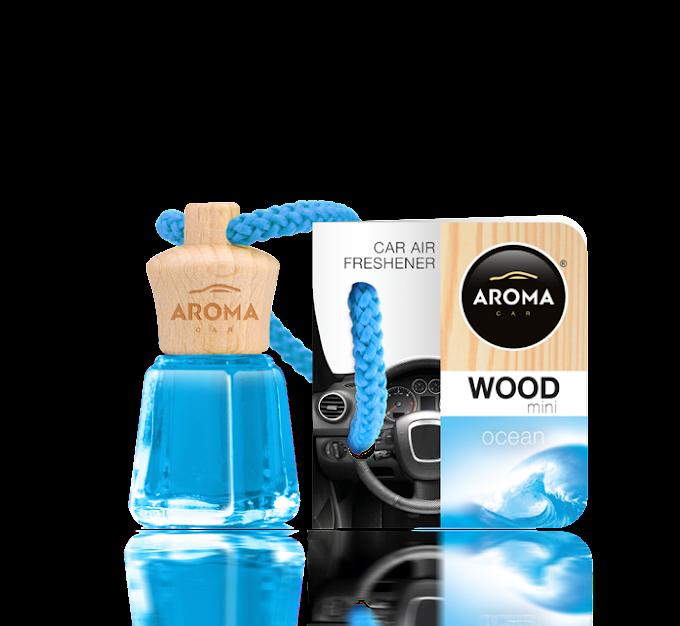 Tinh dầu treo ô tô Aroma Car Wood Mini 4ml - Ocean