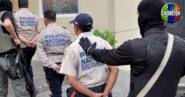 Cuatro funcionarios de la PNB detenidos por Extorsión y Secuestro