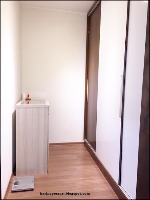 closet sem armários