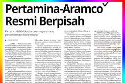 Pertamina-Aramco Officially Split