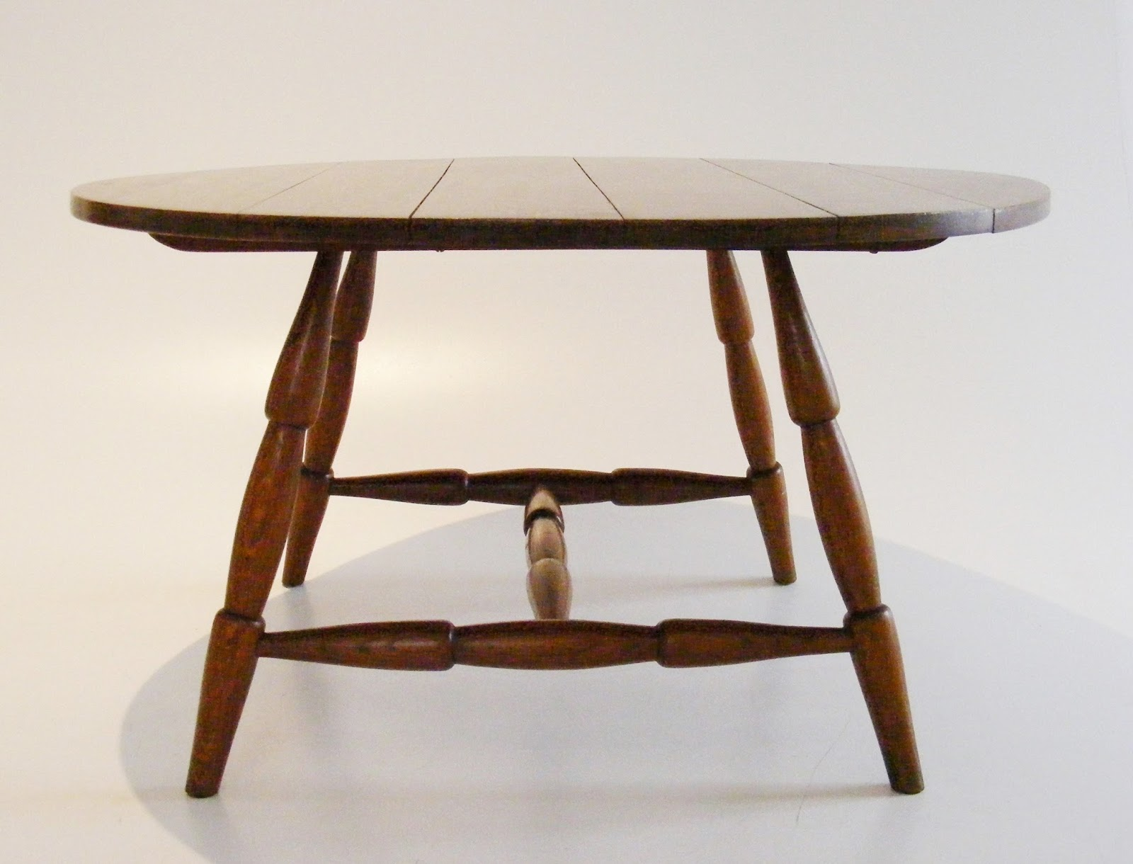 - VAMP FURNITURE: A Solid Oak Vintage Coffee Table Just Unpacked At