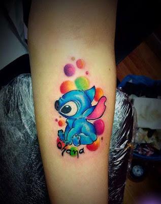 Tatuajes de stitch delicados bonitos