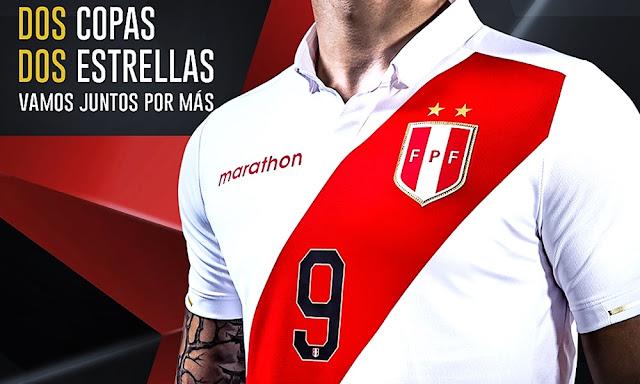 La nueva camiseta de Perú para la Copa América 2019