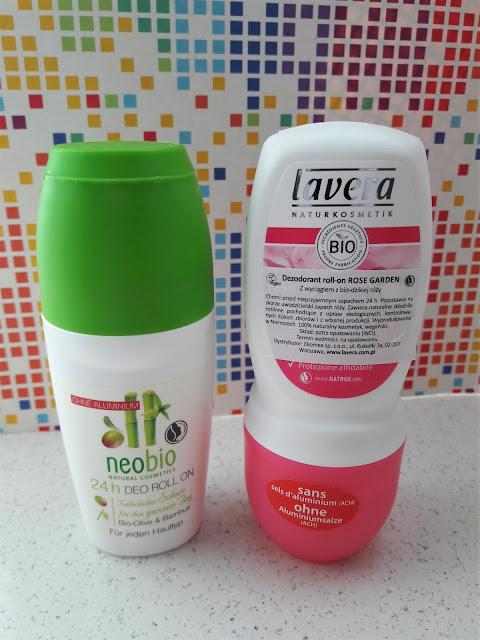 Lavera dezodorant roll on bio dzika róża