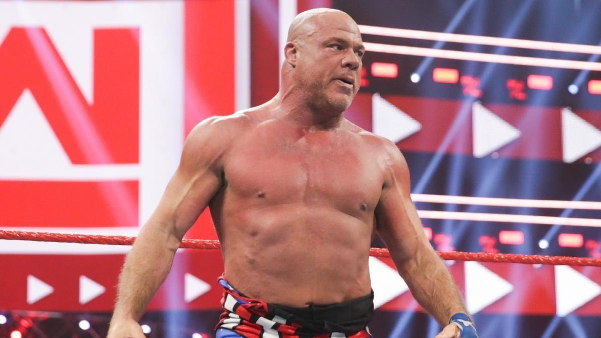 Shaquille O'Neal está tentando levar Kurt Angle para a AEW